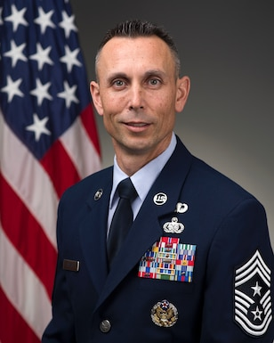 Command Chief Master Sgt. Todd Petzel