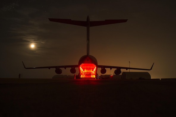 U.S. Air Force Airmen deliver fuel to coalition bases in Iraq in support of Operation Inherent Resolve, Dec. 16, 2015. OIR is the coalition intervention against the Islamic State of Iraq and the Levant. (U.S. Air Force photo by Tech. Sgt. Nathan Lipscomb)