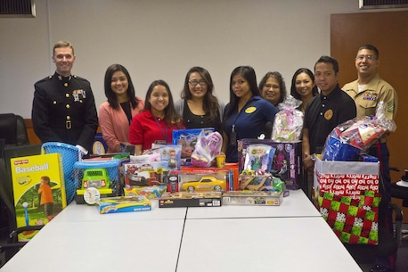 DZSP 21 donated toys to those in need during the 2015 Toys for Tots toy drive.