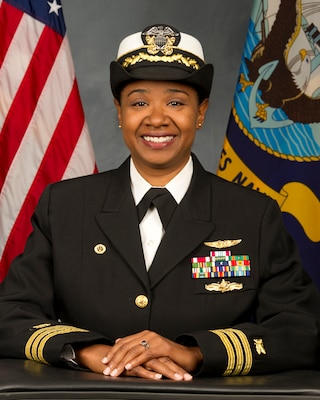 United States Navy Supply Corps Cmdr. Pamela C. Dozier officially assumed responsibility of DLA Distribution Sigonella, Italy, on Dec. 18.