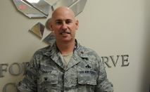Three Air Force Reserve officers have been selected to lead active-duty units under the voluntary Extended Active Duty tour program. Maj. Albert Knapp, Air Force Reserve Command Directorate for Logistics, Engineering and Force Protection executive officer, will lead the 56th Maintenance Squadron, Kirtland AFB, New Mexico.  (US. Air Force photo/Philip Rhodes)