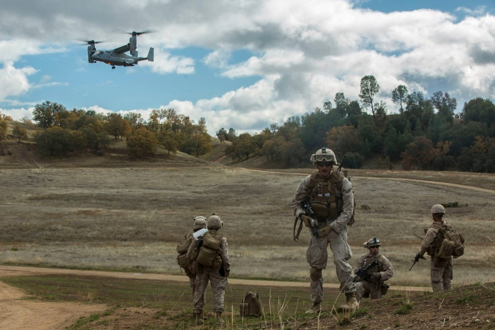 """Marines and Sailors with 1st MLG successfully completed Steel Knight 16 this week, making their way home from Marine Corps Air Ground Combat Center Twentynine Palms. Here are some of the top shots from the exercise. Like your favorite and the photo with the most """"votes"""" on Monday will win."""