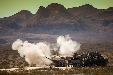 "Marines and Sailors with 1st MLG successfully completed Steel Knight 16 this week, making their way home from Marine Corps Air Ground Combat Center Twentynine Palms. Here are some of the top shots from the exercise. Like your favorite and the photo with the most ""votes"" on Monday will win."