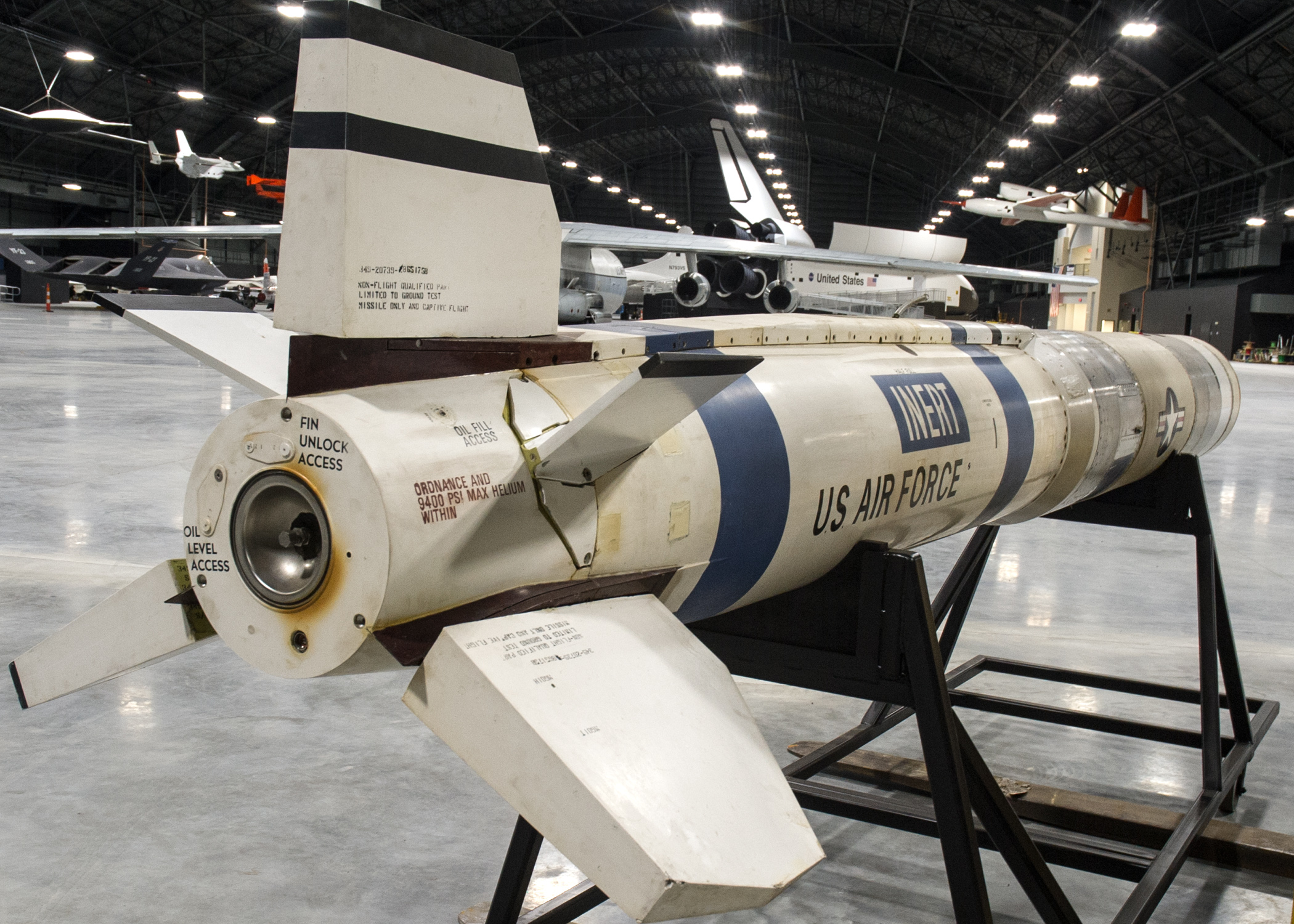 Vought ASM-135A Anti-Satellite Missile > National Museum of the ...