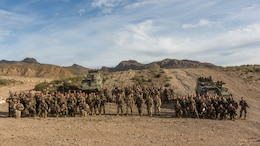 U.S. Marines with Special-Purpose Marine Air-Ground Task Force Crisis Response-Africa embed with a Spanish Legion company during a week-long exercise in the mountains of Almeria, Spain, Dec. 14-18, 2015. The combined urban and mountain warfare training is another bilateral training opportunity strengthening the U.S. and Spanish military relationship.