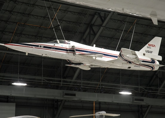 Grumman X-29A in the R&D Gallery at the National Museum of the U.S. Air Force on December 28, 2015. (U.S. Air Force photo)
