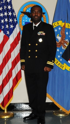 Navy Lt. Emmanuel Nneji, business development officer at Defense Logistics Agency Distribution Norfolk, Va., has been awarded the Distribution Company Grade Officer of the Quarter for fourth quarter, fiscal year 2015, for his visionary leadership and committed drive to mission success.