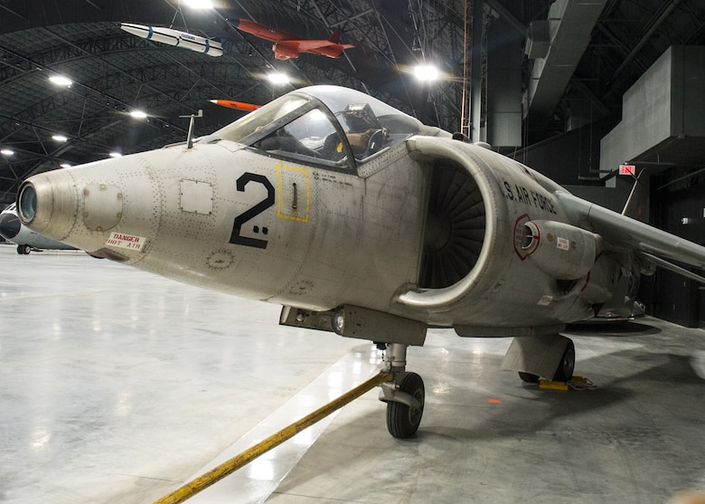 Hawker Siddeley XV-6A Kestrel in the Research & Development Gallery at the National Museum of the U.S. Air Force on December 28, 2015. (U.S. Air Force photo)