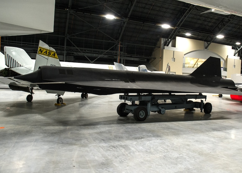Lockheed D-21B in the Research & Development Gallery at the National Museum of the U.S. Air Force on December 28, 2015. (U.S. Air Force photo)