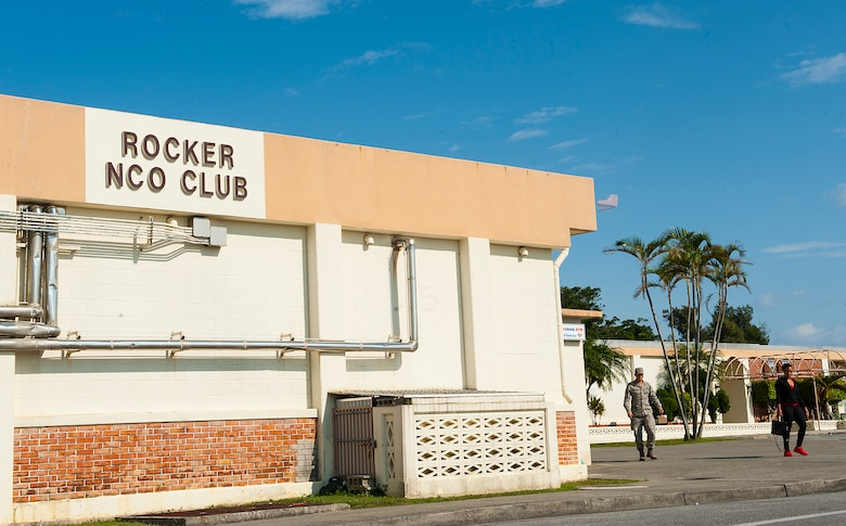 The Rocker NCO Club was originally built on Kadena Air Base, Japan, in 1958 and will now be closing its doors to make way for a brand new facility. The new $47 million facility will take approximatly 18 to 24 months to complete. (U.S. Air Force photo by Airman 1st Class Corey M. Pettis)