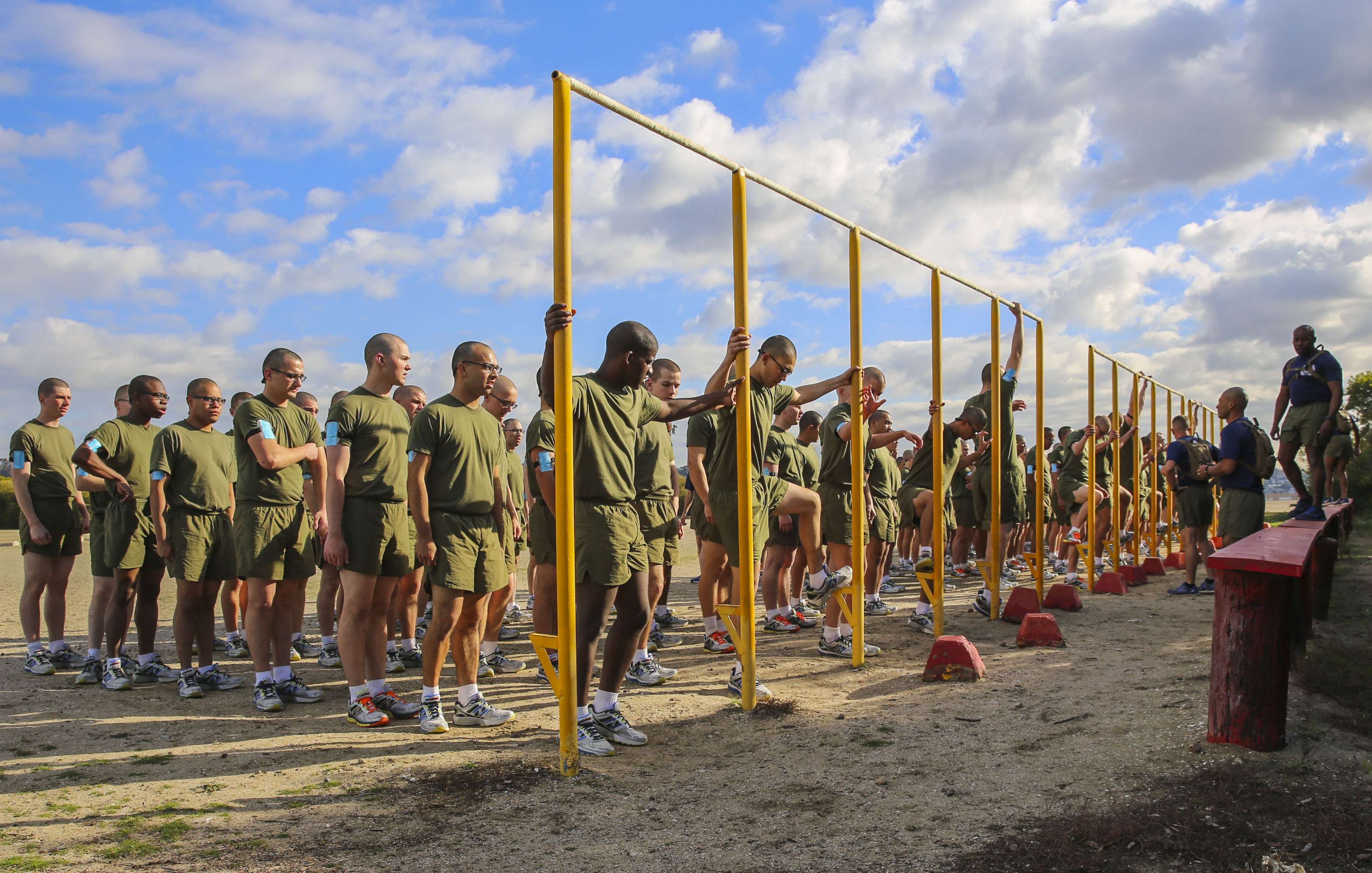 Image result for Marine Corps Pull up