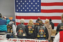 Veterans from the American Legion participate in the annual American Legion Turkey Run Nov. 21 at the Clamshell on Fort Riley.