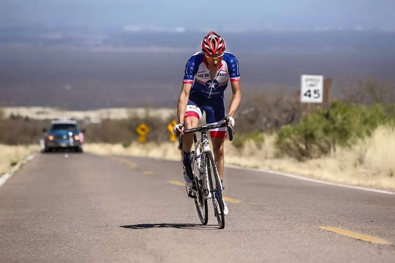 Oregon Air National Guard Tech. Sgt. Dwayne Farr, an Egress repairman with the 142nd Fighter Wing participates in altitude training in Tucson, Arizona, riding up to Kitt Peak with an elevation topping out at 9,000 feet above sea level, July 1, 2015. (Photo courtesy of Tech. Sgt. Dwayne Farr)