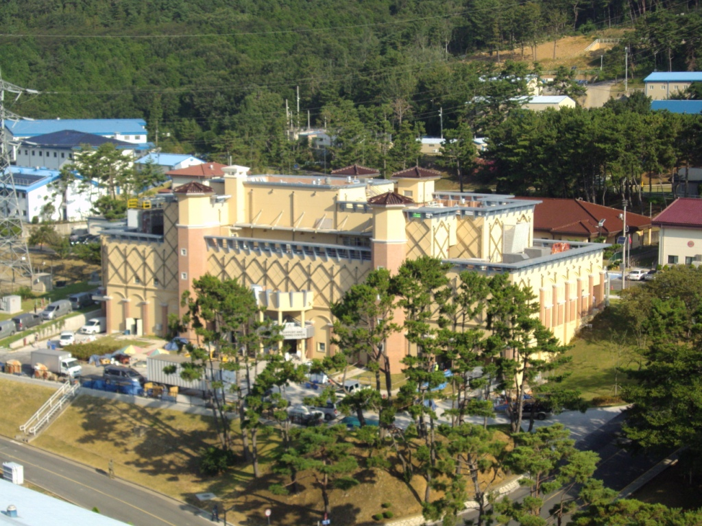 Fleet And Family Town Center Completed At Commander Fleet - Chinhae naval base