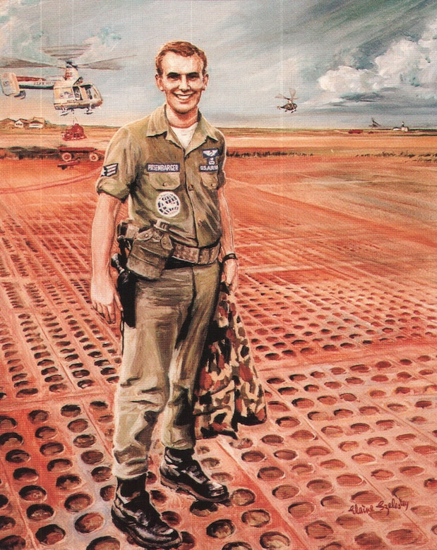 From the Airmen Heritage Series booklet, Airmen Memorial Museum.  Medal of Honor recipient Vietnam.