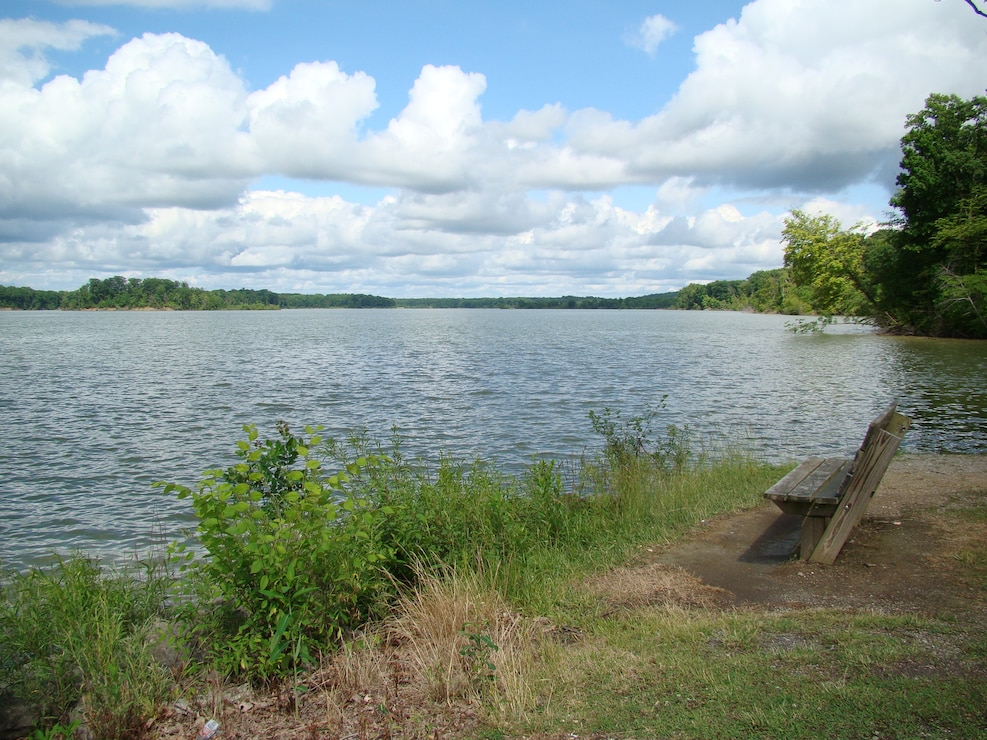 A welcoming rest area at Michael J. Kirwan Reservoir.