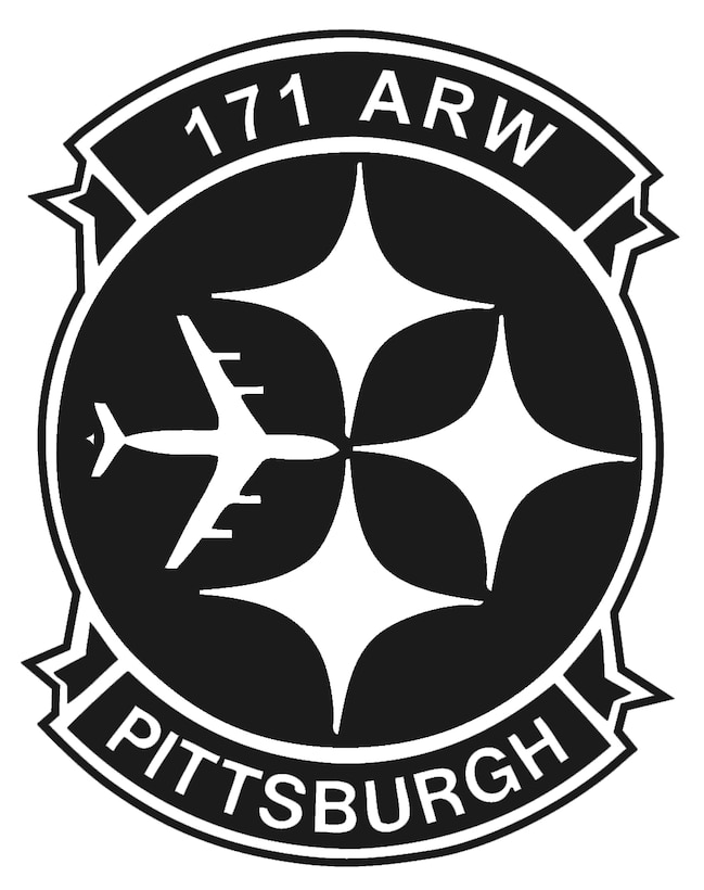 171st steel patch black and white