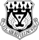 171st wing patch black and white