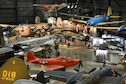 An overall view of the World War II Gallery at the National Museum of the United States Air Force. (U.S. Air Force photo)