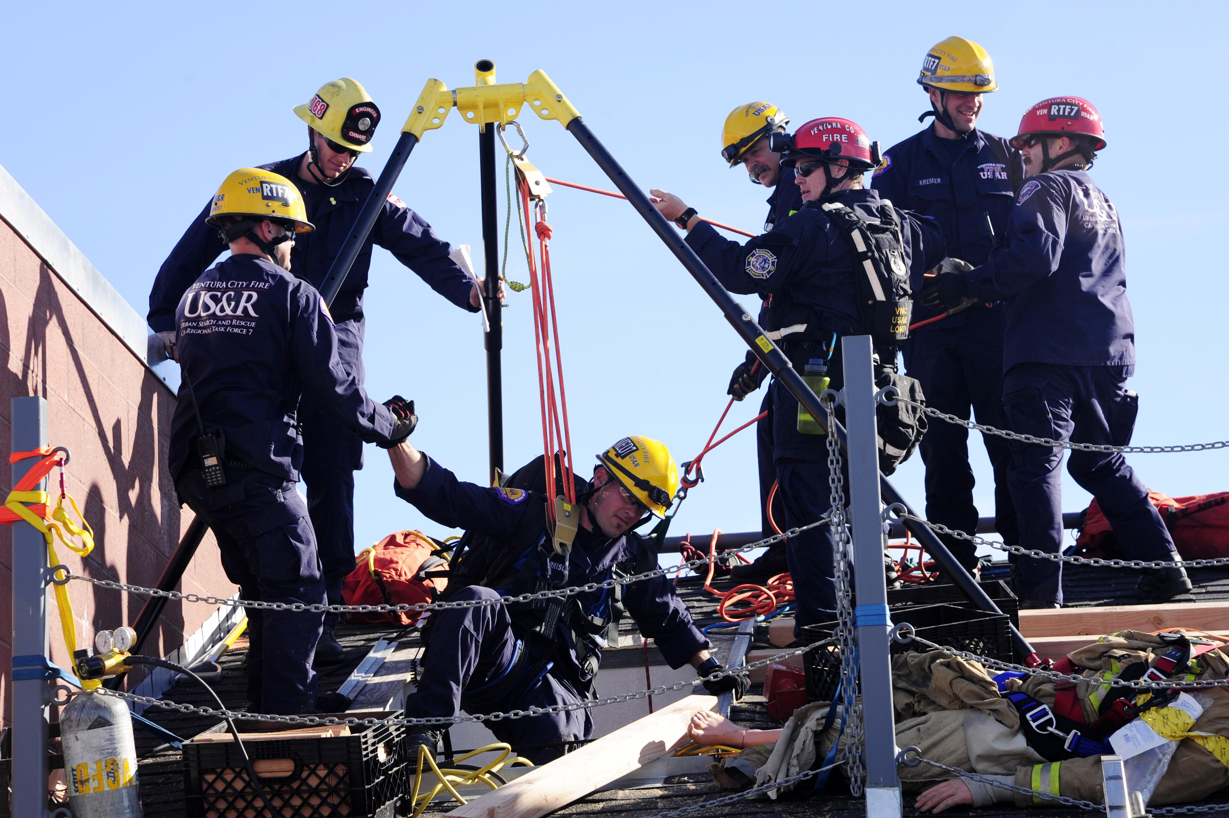 Vandenberg teams with local search, rescue members to hone ...