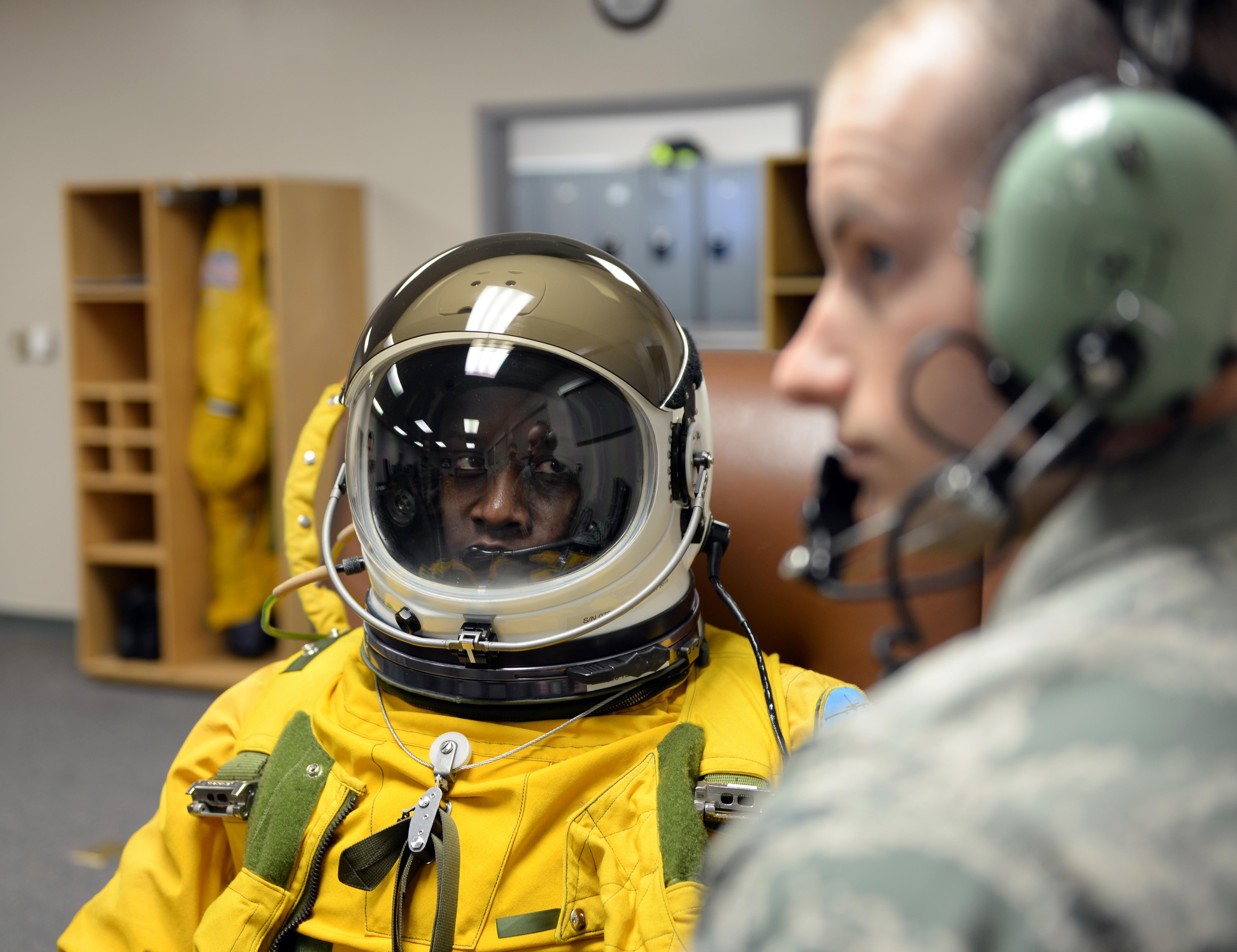 Female U-2 pilot blazes trail through society and space