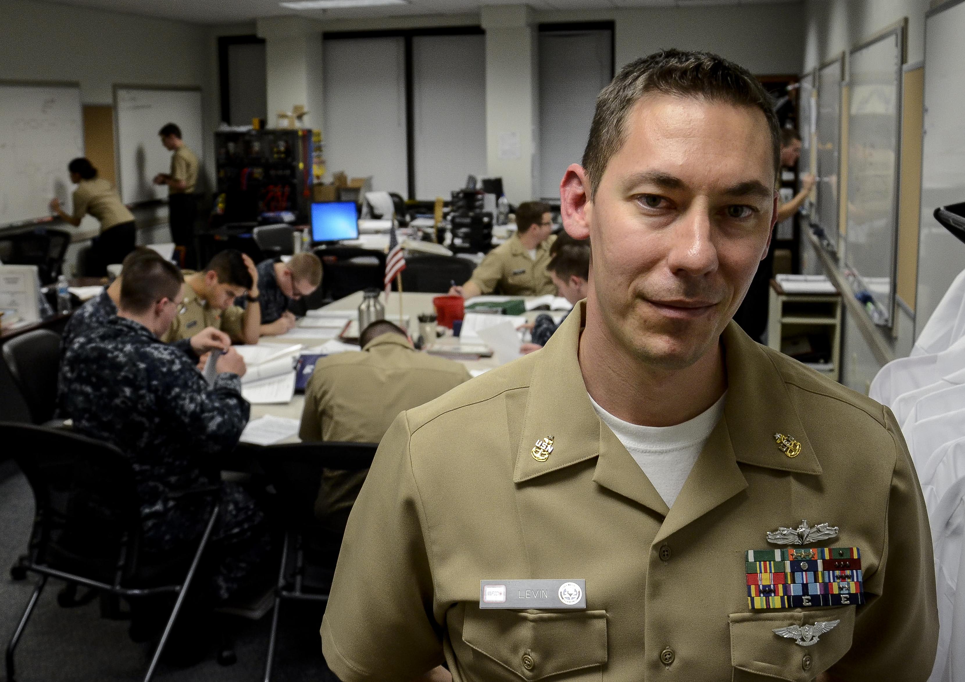 how hard is navy nuke school