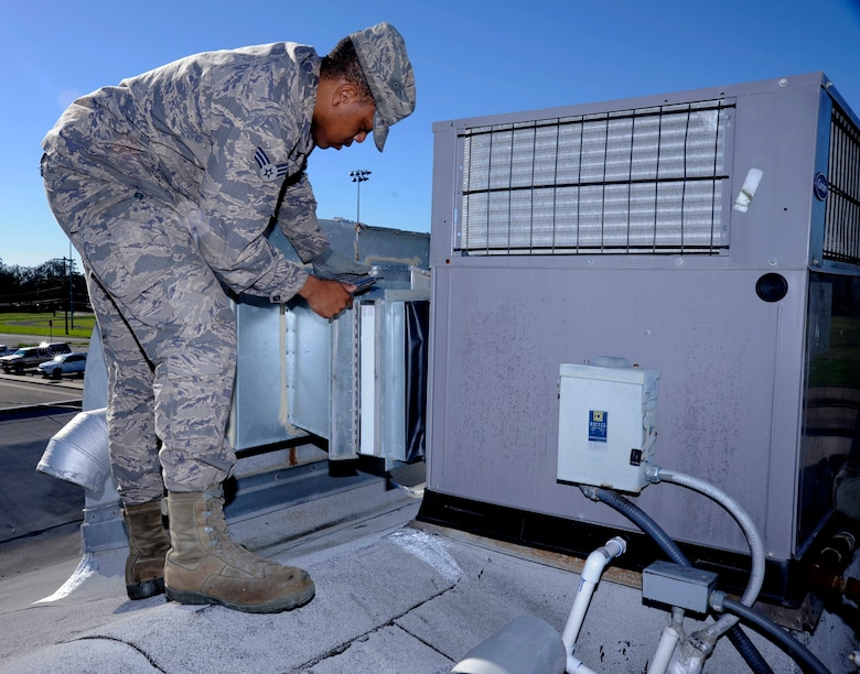 Hvac Air Men Keep It Cool Gt Vandenberg Air Force Base
