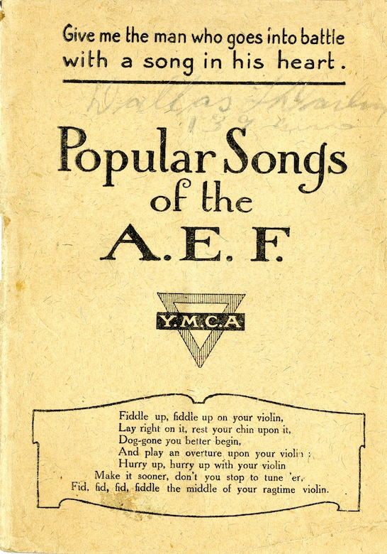 Popular Songs of the AEF > National Museum of the US Air