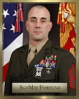 Sergeant Major Matthew Fortune