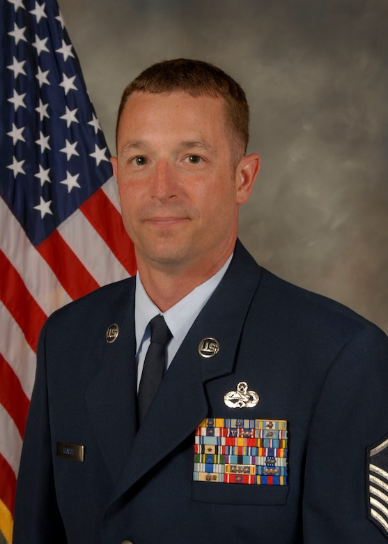 Master Sgt. Michael J. Krausz, the maintenance squadron first sergeant at the 128th Air Refueling Wing, was announced the Wisconsin Air National Guard First Sergeant of the Year because of his continuous outstanding job performance.