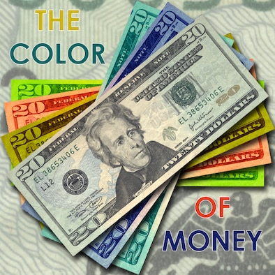 the 'color of money' refers to the different categories of budget dollars and the specific uses on which they may be spent. Under-execution of funds in one area can result in future budget cuts. Individual Reservists are encouraged to perform all of their Inactive Duty Training and Annual Tour days to help ensure adequate funding is available for training in subsequent fiscal years. (U.S. Air Force graphic/Master Sgt. Timm Huffman)