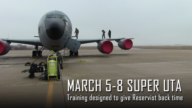 The 507th Air Refueling Wing is holding its first Super Unit Training Assembly on March 5-8 to give time back to Reservists.