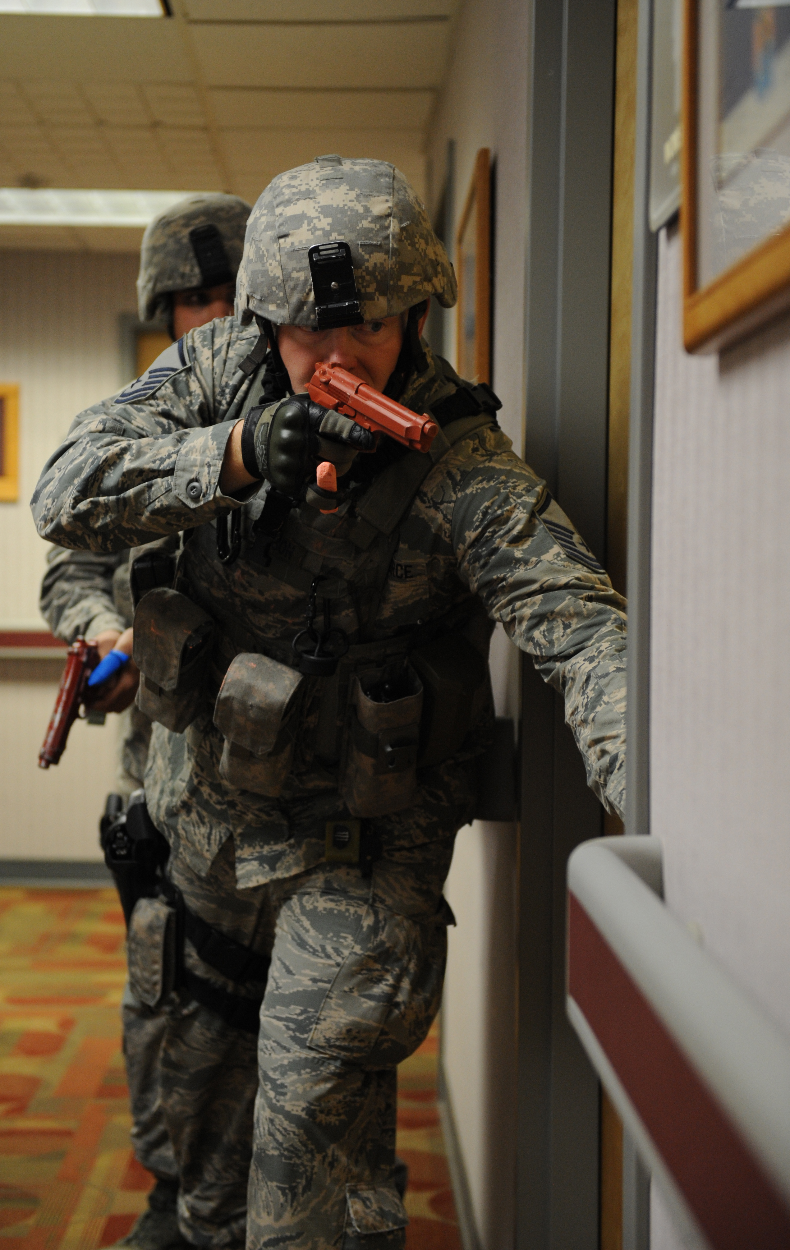 team whiteman participates in active shooter exercise > whiteman hi res photo details