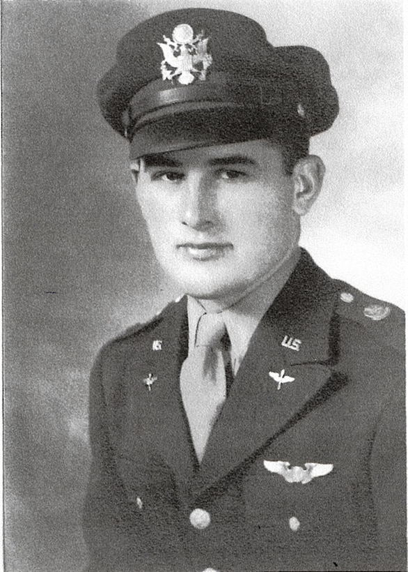 An official portrait of Don Clark, circa World War II. Clark, a C-47A Skytrain pilot flew 81 missions, to include 27 combat missions, in Europe during World War II. (Courtesy photo)