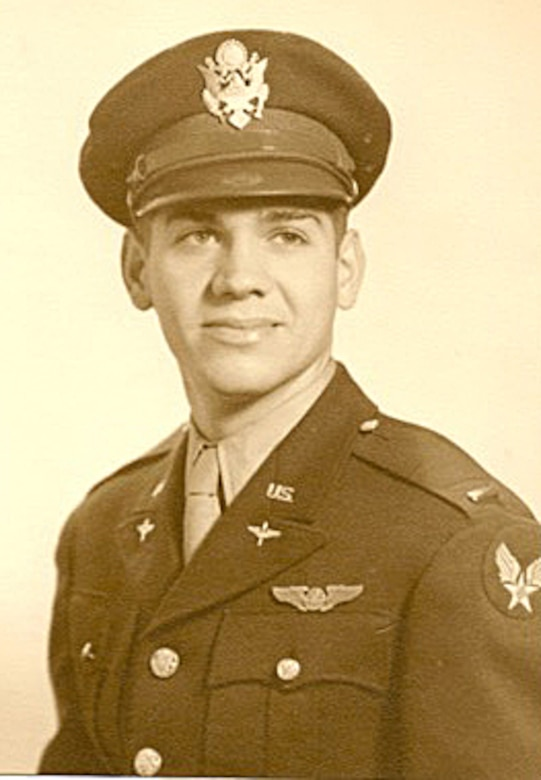 Pictured is 2nd Lt. Russell Gackenbach who was aboard Necessary Evil, the B-29 Superfortress used during the bombing on Hiroshima, Japan on Aug. 6, 1945. (Courtesy Photo)