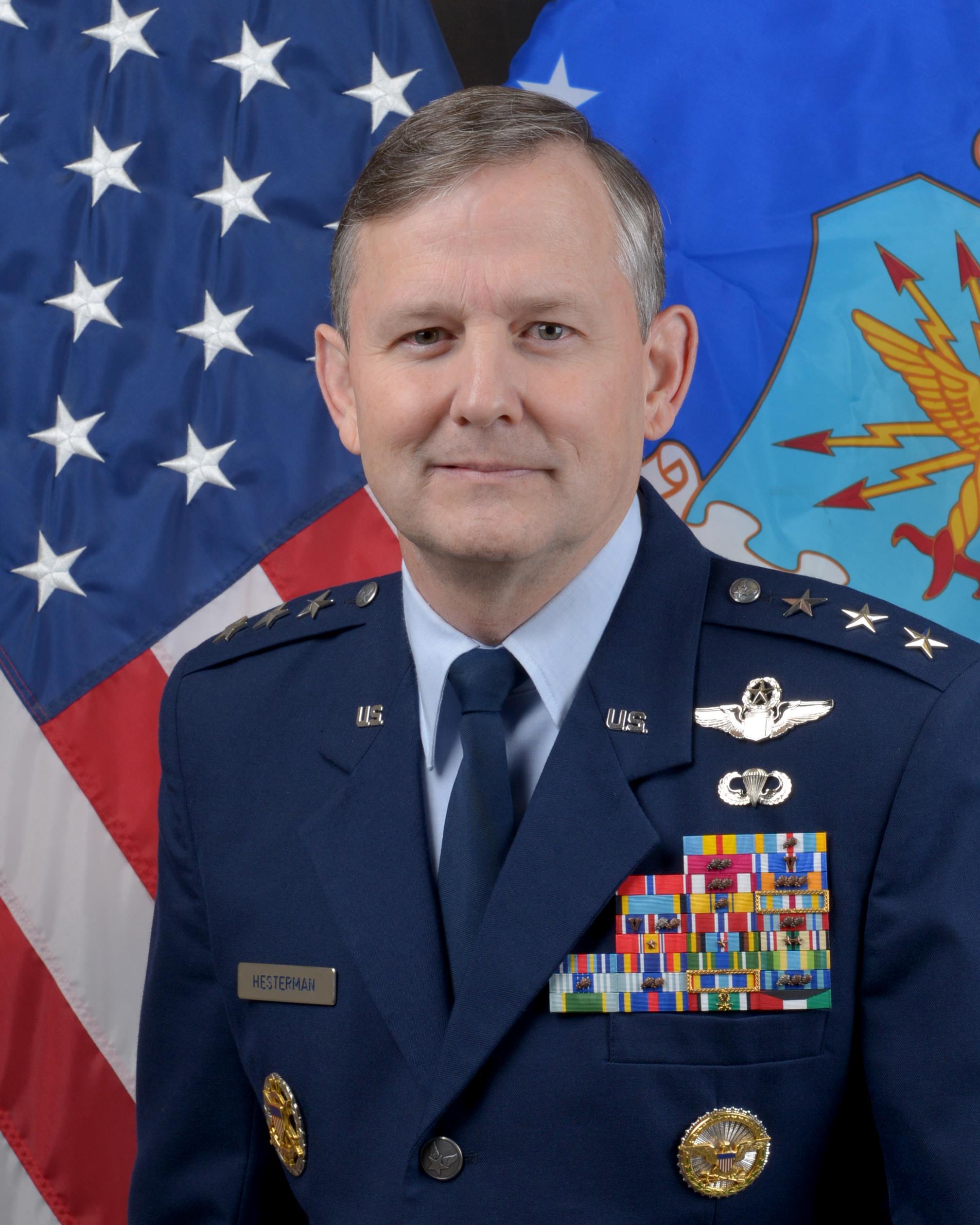 lieutenant general john w hesterman iii u s air force