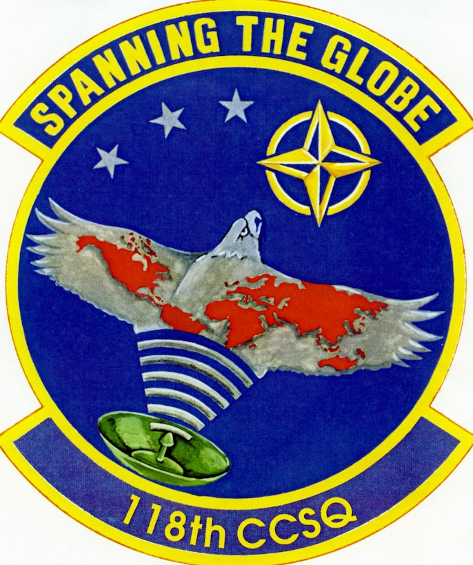 118th Combat Communications Squadron Patch (Photo by NCANG Heritage Program)