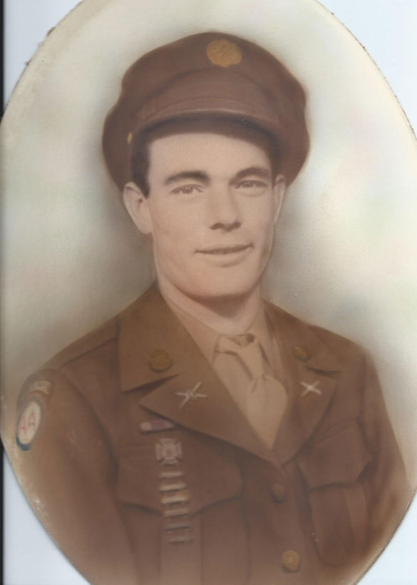 Cpl. William F. Day poses for a picture during his time in service. Day was assigned to Company C, 32nd Infantry Regiment, 31st Regimental Combat Team, and was deployed to North Korea. He was reported missing in actions Dec. 2, 1950.