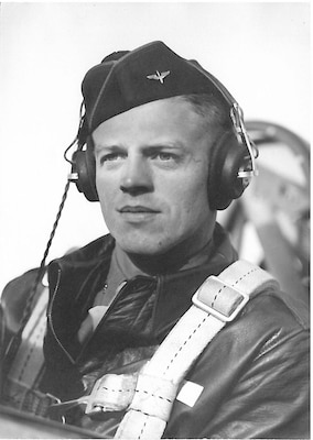 2nd Lt. Verne L. Gibb poses for a picture during his time in service. Gibb was the pilot of an C-47B Skytrain aircraft that was loss in India during World War II.