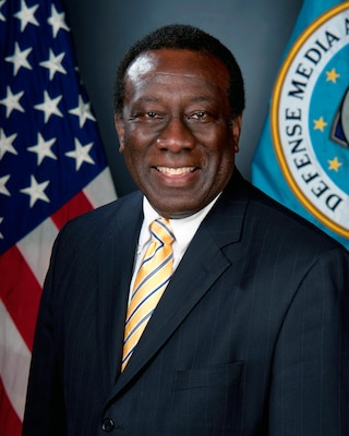 Official photograph of Mr. Ray B. Shepherd, Director of Defense Media Activity. (DMA photo)