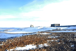 Area surrounding Thule Air Base, Greenland (Arctic)