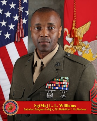 Sergeant Major Williams Gt 1st Marine Division Gt Leaders