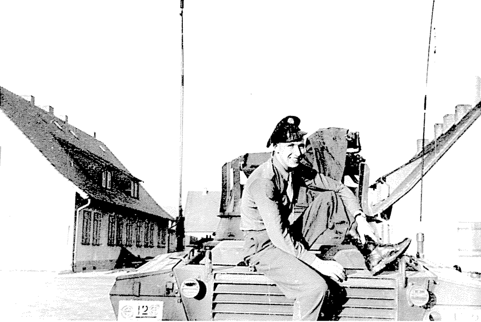 Sgt. Ervin A. Fricke