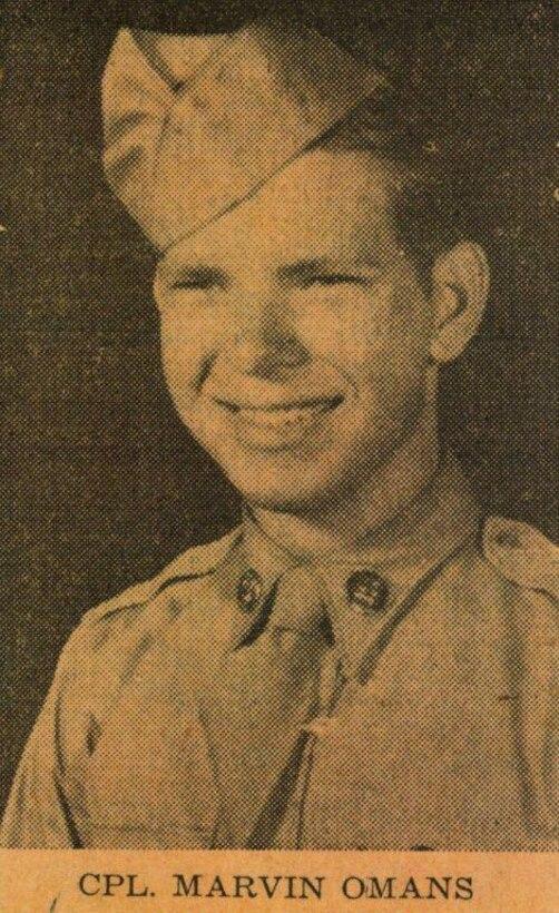 Cpl. Marvin E. Omans