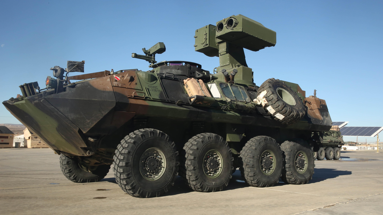 3rd LAR Marines test new LAV-ATWS > Marine Corps Systems ...