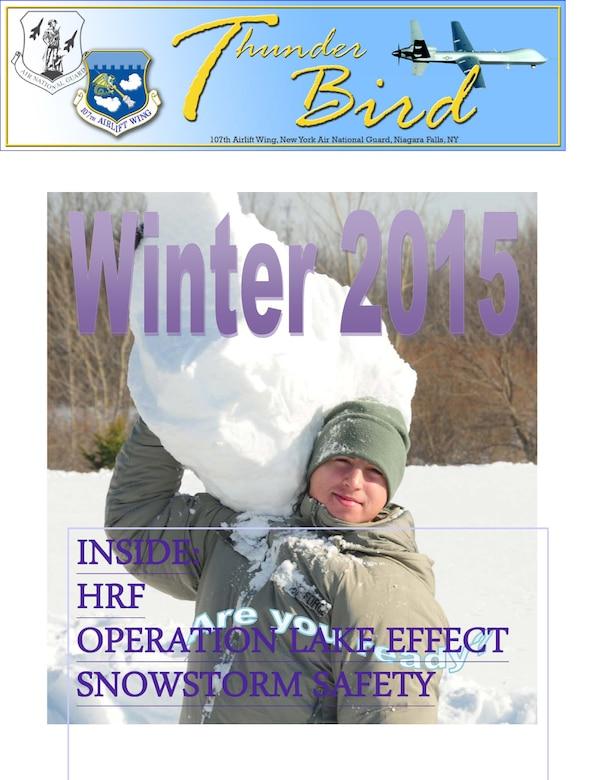 ThunderBird Winter 2015 (U.S.Air National Guard Graphic/107th Public Affairs)