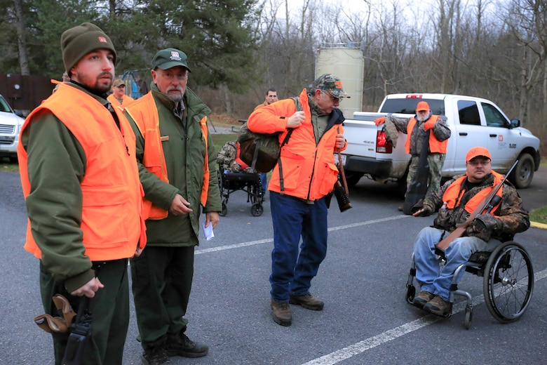The U.S. Army Corps of Engineers hosted the 9th annual Bill Nesbit Memorial Hunt Dec. 19 in Elk Garden, West Va. The annual hunt gave eight handicapped hunters and disabled veterans the opportunity to harvest a deer with the help of safety instructors.