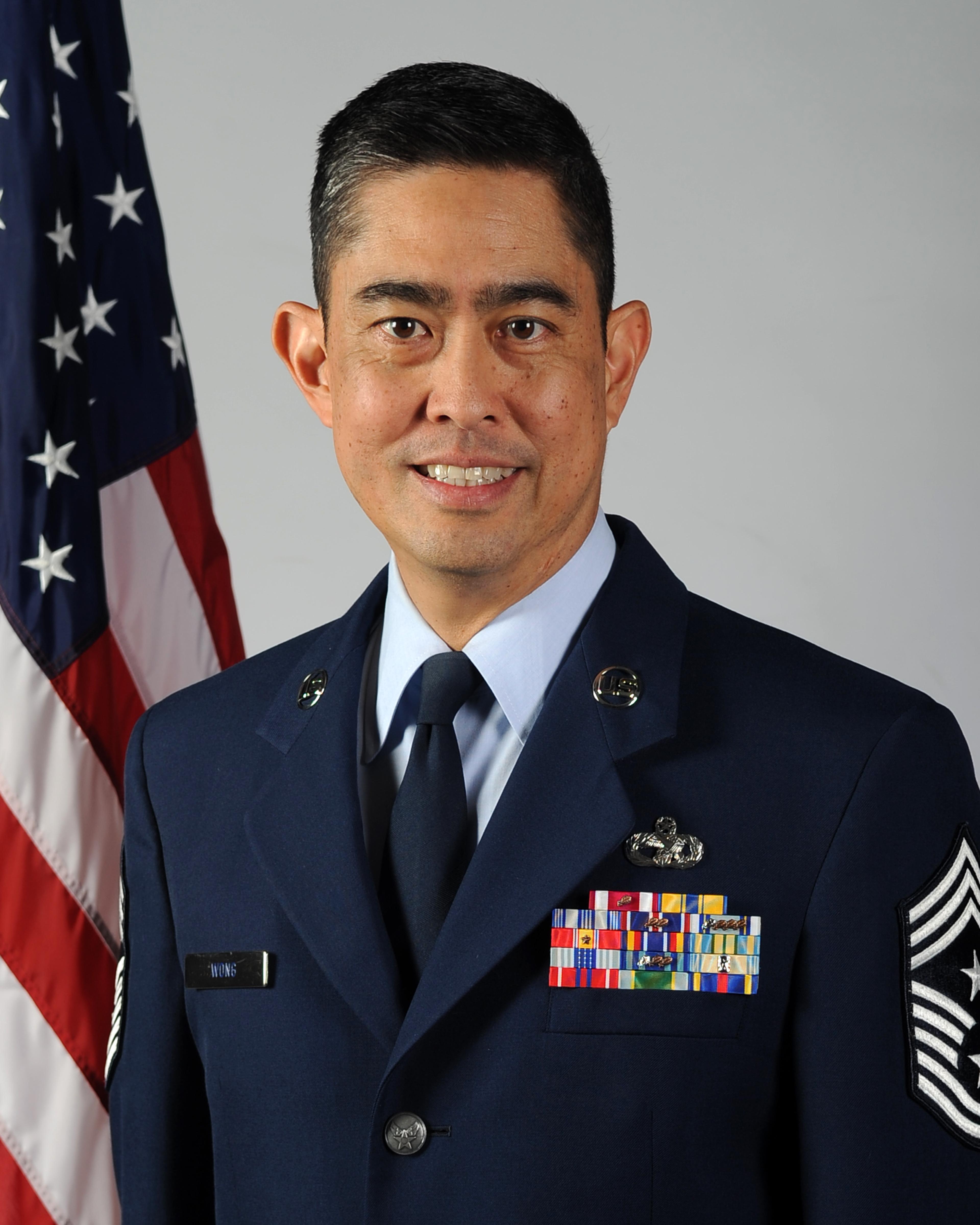 Command Chief Master Sergeant Brian C L Wong Gt 4th Air