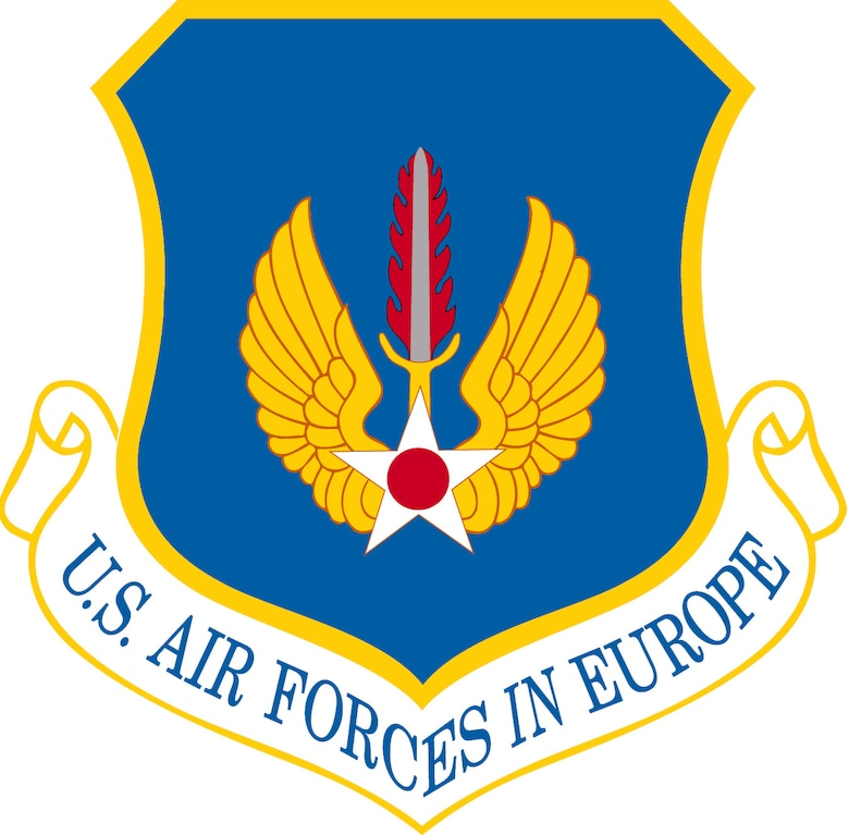 U.S. Air Forces in Europe shield.