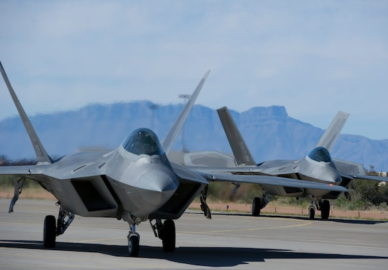 The Air Force has awarded Lockheed Martin a $67.8 million contract to help finish a year's worth of maintenance and repair work for the F-22 Raptor at Hill Air Force Base, Utah. (U.S. Air Force photo)